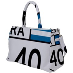 Argentina National Route 40 Duffel Travel Bag