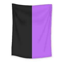 Black Purple Medium Tapestry by TimelessDesigns