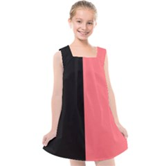 Black Red Kids  Cross Back Dress by TimelessFashion