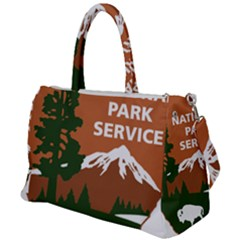 U S  National Park Service Arrowhead Insignia Duffel Travel Bag