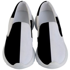 Black White Kids  Lightweight Slip Ons by TimelessFashion
