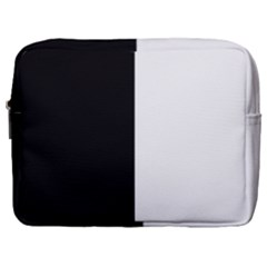 Black White Make Up Pouch (large) by TimelessFashion