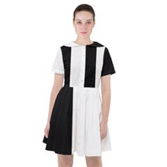 Black White Sailor Dress