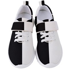 Black White Women s Velcro Strap Shoes by FEMCreations