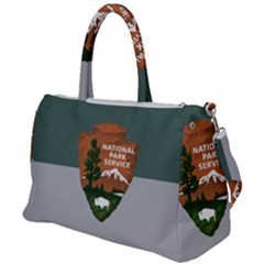 Guidon Of U S  National Park Service Duffel Travel Bag