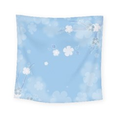 Blue Garden Square Tapestry (small)