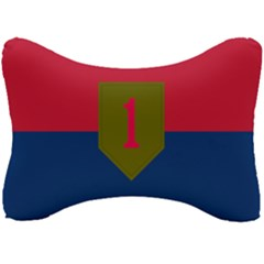 United States Army First Infantry Division Flag Seat Head Rest Cushion