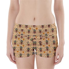 Sankta Lucia With Love And Candles In The Silent Night Boyleg Bikini Wrap Bottoms
