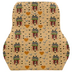 Sankta Lucia With Love And Candles In The Silent Night Car Seat Back Cushion  by pepitasart