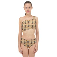 Sankta Lucia With Love And Candles In The Silent Night Spliced Up Two Piece Swimsuit by pepitasart
