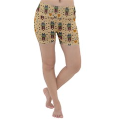 Sankta Lucia With Love And Candles In The Silent Night Lightweight Velour Yoga Shorts