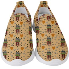 Sankta Lucia With Love And Candles In The Silent Night Kids  Slip On Sneakers