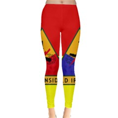Flag Of U S  Army 1st Armored Division Leggings