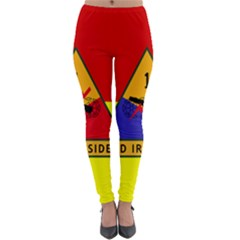 Flag Of U S  Army 1st Armored Division Lightweight Velour Leggings