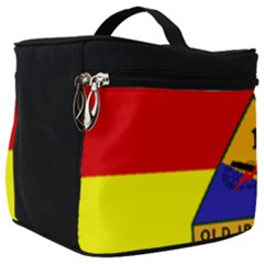 Flag Of U S  Army 1st Armored Division Make Up Travel Bag (big)