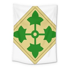 U S  Army 4th Infantry Division Shoulder Sleeve Insignia (1918¨c2015) Medium Tapestry