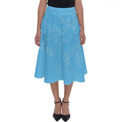Bubble Style Perfect Length Midi Skirt
