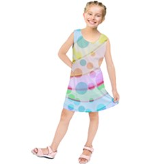 Bubbles On A Rainbow Kids  Tunic Dress by TimelessFashion