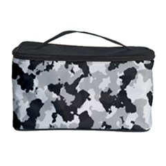 Camouflage In Black And White Cosmetic Storage by TimelessFashion