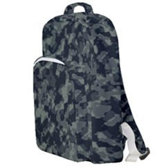 Camouflage In Green Double Compartment Backpack