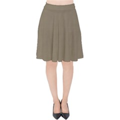 Canvas Style Velvet High Waist Skirt by TimelessFashion