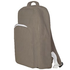 Canvas Style Double Compartment Backpack by TimelessFashion