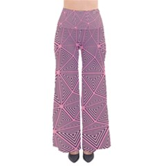 Chaos Of Triangles In Pink So Vintage Palazzo Pants