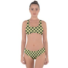 Checkers 1 Criss Cross Bikini Set
