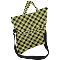 Checkers 1 Fold Over Handle Tote Bag