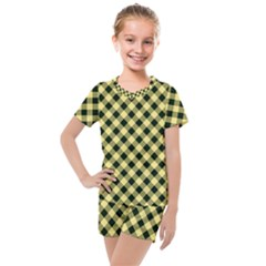 Checkers 1 Kids  Mesh Tee And Shorts Set by TimelessFashion
