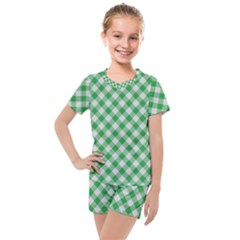 Checkers 2 Kids  Mesh Tee And Shorts Set by TimelessFashion
