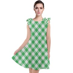 Checkers 2 Tie Up Tunic Dress by TimelessFashion