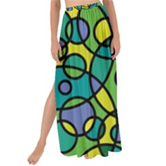 Circling Time 1 Maxi Chiffon Tie Up Sarong by TimelessFashion