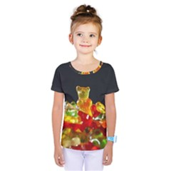 Yummi Bears Kids  One Piece Tee by WensdaiAddamns