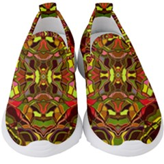 Abstract #8   I   Autumn 6000 Kids  Slip On Sneakers