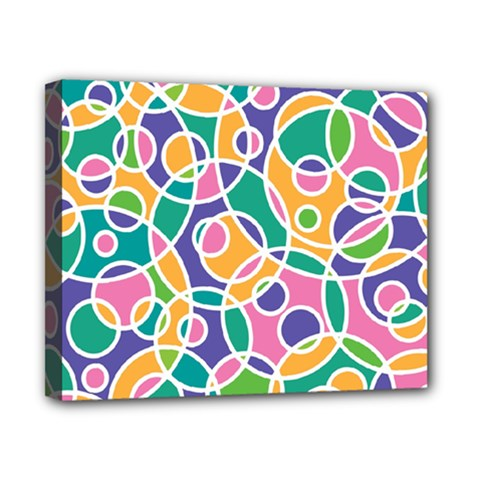 Circling Time 3 Canvas 10  X 8  (stretched) by TimelessDesigns