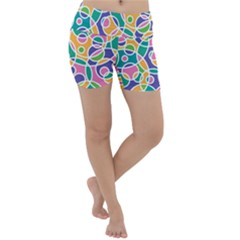 Circling Time 3 Lightweight Velour Yoga Shorts