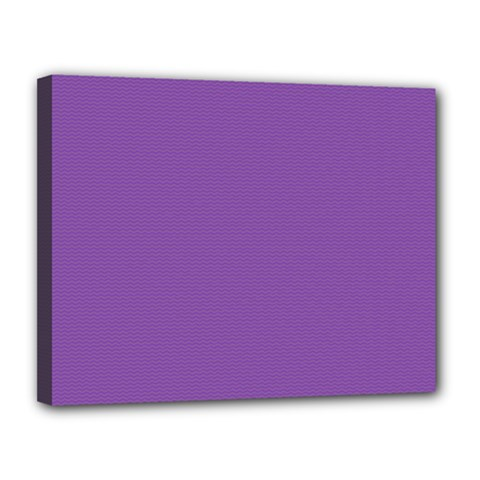 All Purple Canvas 14  X 11  (stretched)