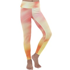 Bright Fading Kids  Lightweight Velour Classic Yoga Leggings