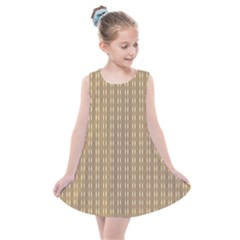 Brown Effect Kids  Summer Dress by TimelessFashion