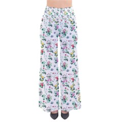 Classic Flowers So Vintage Palazzo Pants