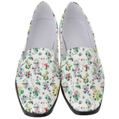 Classic Flowers Women s Classic Loafer Heels