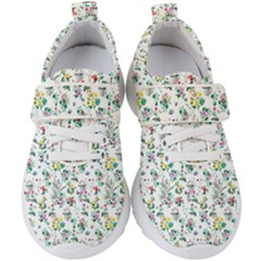 Classic Flowers Kids  Velcro Strap Shoes by TimelessFashion