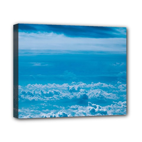 Cloudy Sky Canvas 10  X 8  (stretched) by TimelessDesigns