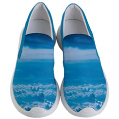 Cloudy Sky Women s Lightweight Slip Ons by FEMCreations