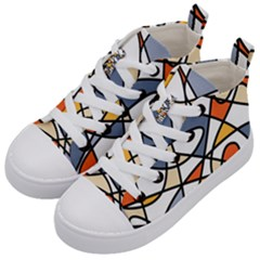 Color Madness Kids  Mid Top Canvas Sneakers by TimelessFashion