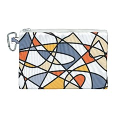 Color Madness Canvas Cosmetic Bag (large)