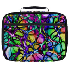 Color Network Full Print Lunch Bag