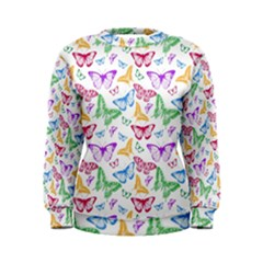 Colorfull Butterflies Women s Sweatshirt