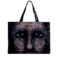 Foam Man Photo Manipulation Poster Mini Tote Bag by dflcprintsclothing